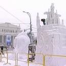 Фестиваль снежных скульптур в Новосибирске