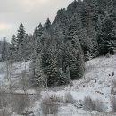 Горы, декабрь.