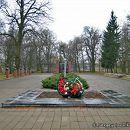 Андрушівка. Алея Слави в садибі Терещенко. Березень 2008
