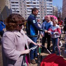 Автомобильная Федерация Украины высадила более 1000 деревьев  по всей стране