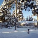 Финляндия. г. Рованиеми. Здесь *вид на жительство*. Фотографировал