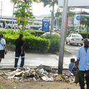 Новая Гвинея. Столица г.Порт-Морсби. Жил. Фотографировал